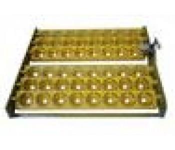 Лоток с механизмом поворота на 48 куриных яиц