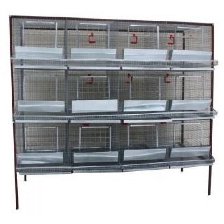 Клетка для кур-несушек или бройлеров 4-3 купить
