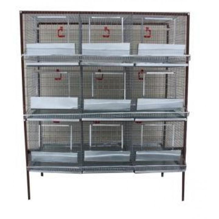 Клетка для кур-несушек или бройлеров 3-3 купить