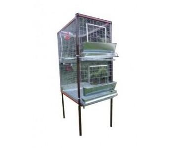 Клетка для кур-несушек или бройлеров 1-2