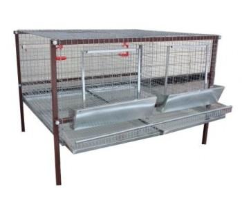 Клетка для кур-несушек или бройлеров 2-1
