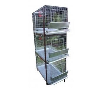 Клетка для кур-несушек или бройлеров 1-3