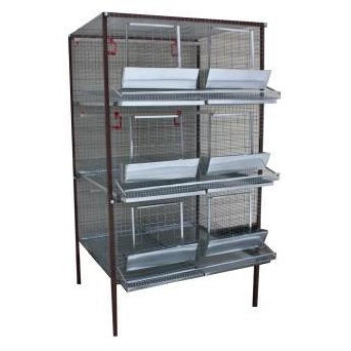 Клетка для кур-несушек или бройлеров 2-3 купить