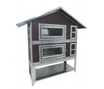 """Утепленный домик для кроликов """"Бестселлер"""" О-22"""