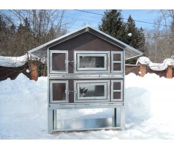 """Утепленный домик для кроликов """"Бестселлер"""" М-22"""