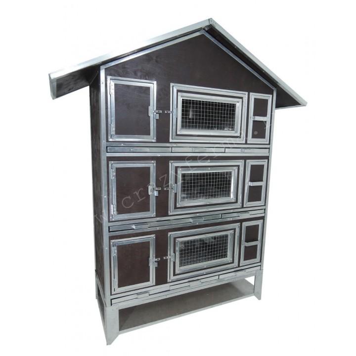 """Утепленный домик для кроликов """"Бестселлер"""" М-23 купить"""