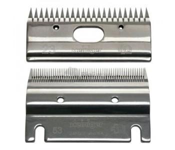 Ножевая пара Heiniger для стрижки лошадей и КРС 53/23 0,1 мм