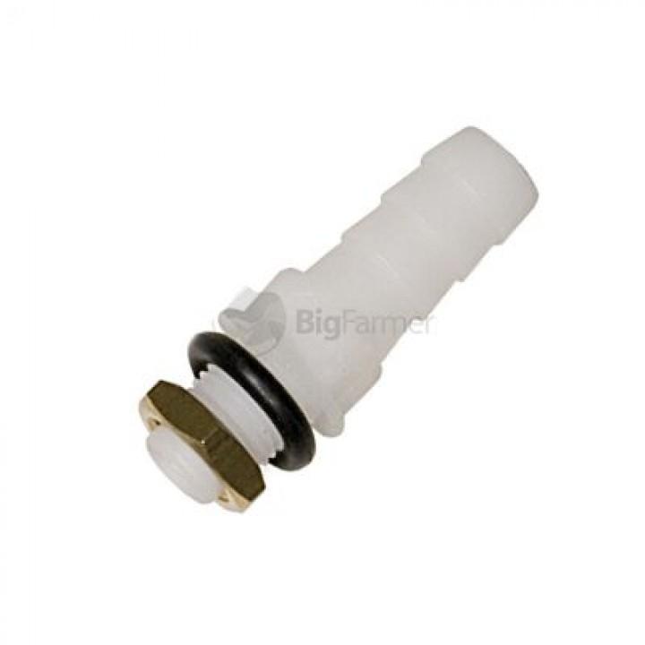 Пластиковый выпускной переходник Ø 9 мм