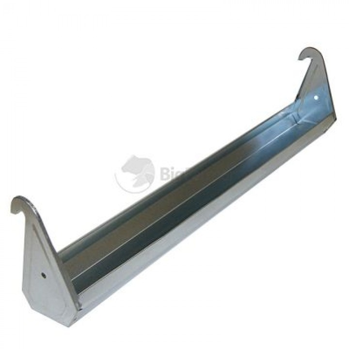 Кормушка навесная 80 см оцинк. сталь