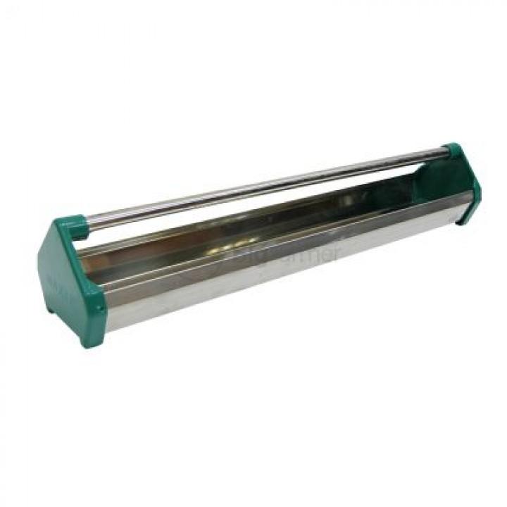 Кормушка лотковая 80 см нерж. cталь с ручкой для птиц