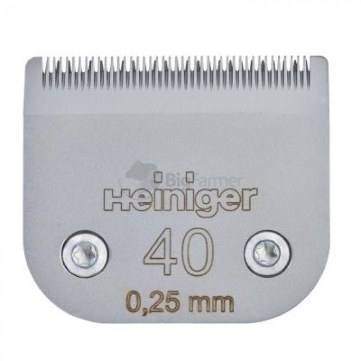 Сменное лезвие Heiniger для кошек 40/0.25 мм
