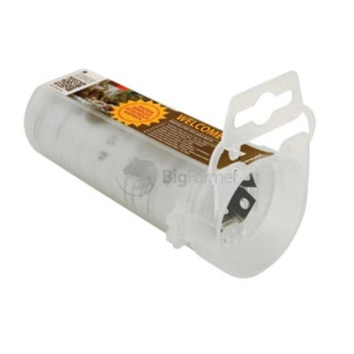 Мышеловка пластиковая L12см Ø5 см