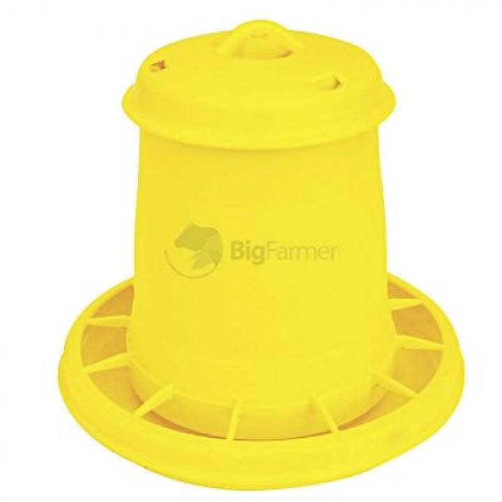 Кормушка бункерная 1,5 кг пластик с разд. решеткой для цыплят
