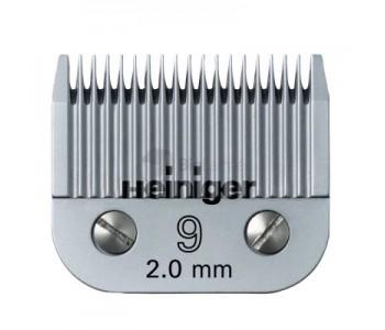 Сменное лезвие Heiniger для собак 9/2.0 мм