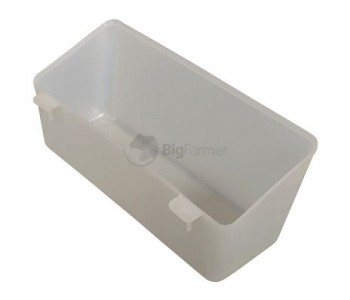 Кормушка-поилка навесная 0,6 л пластик