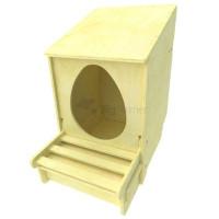 Гнездо для кур несушек с яйцесбором