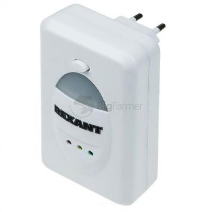 Ультразвуковой отпугиватель вредителей REXANT с LED индикатором