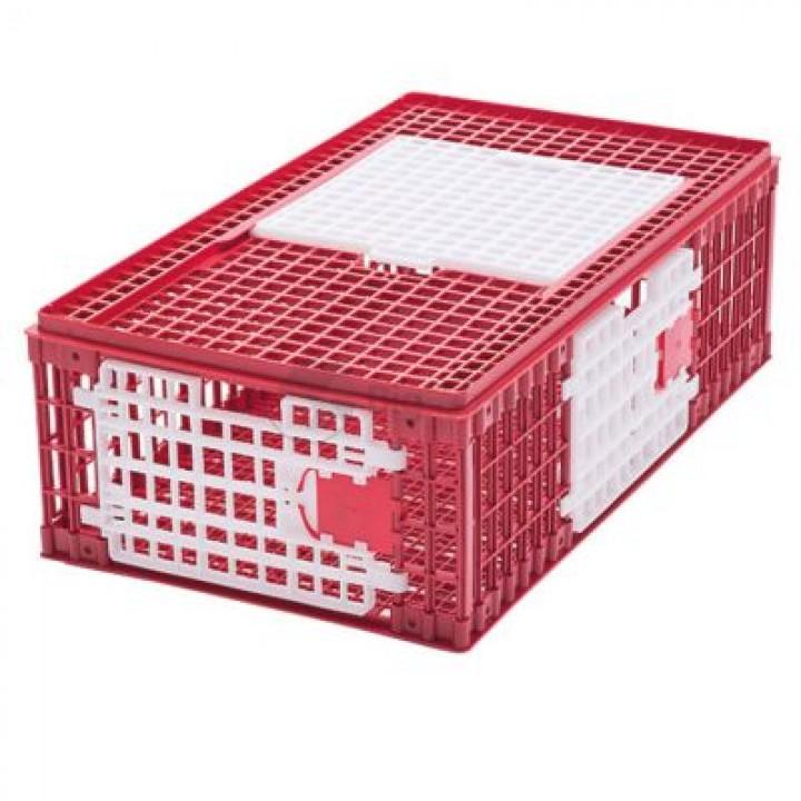 Ящик для транспортировки птиц 95,5х57х32,5 см пластик