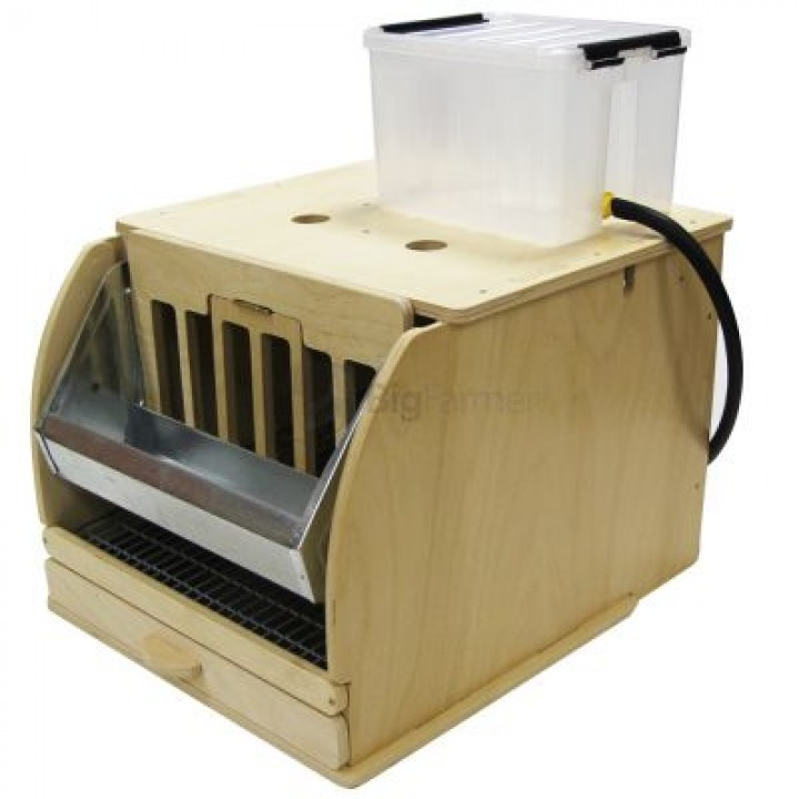 Клетка деревянная для перепелов на 9 голов