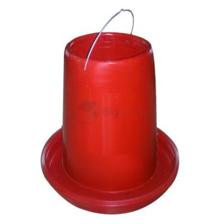Кормушка бункерная 10-12 кг пластик без крышки