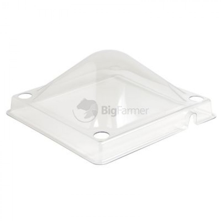Крышка для брудера пластик 25х25 см