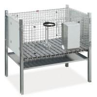 Клетка для кроликов 70 см односекционная