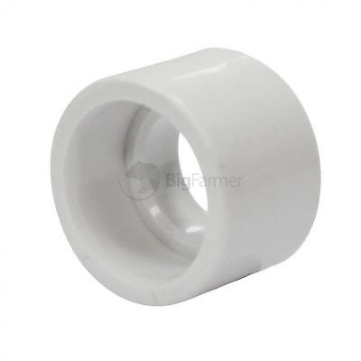 Заглушка, Ø25 мм пластиковая, с сапуном, на клей