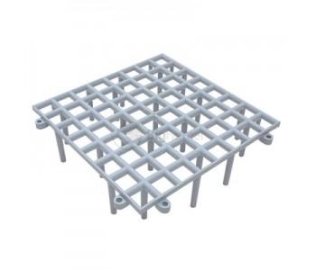 Решетка для пола 25x25x7см, сборная (16 шт.)