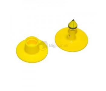 Бирки ушные MultiFlex R двойные, желтые