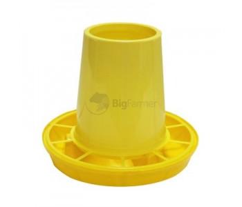 Кормушка бункерная 0,5 кг пластик с разд. решеткой без крышки