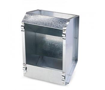 Кормушка бункерная для кроликов 1 секц. металл 145 мм без крышки
