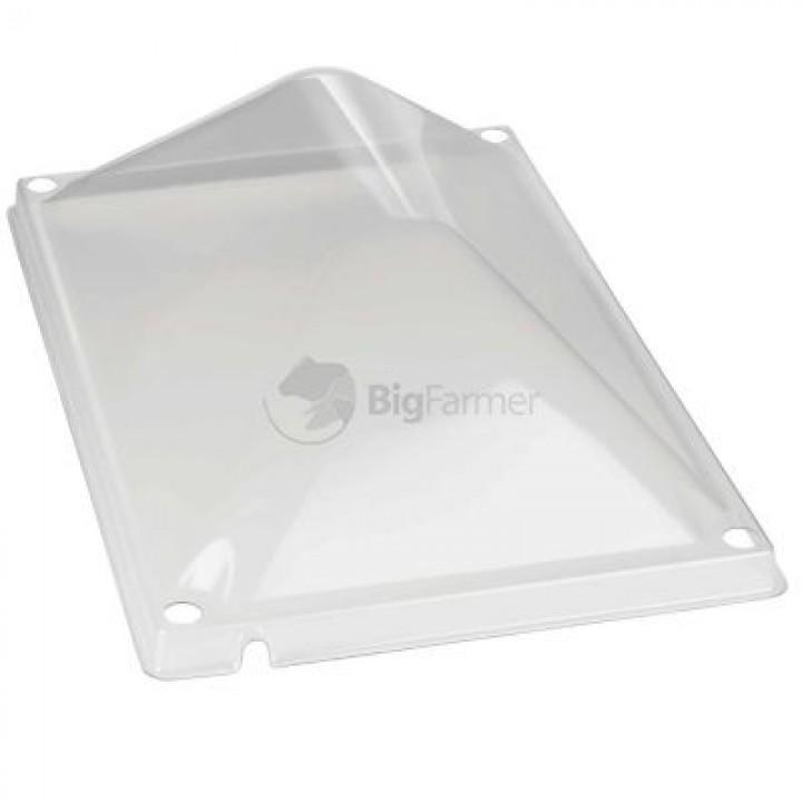 Крышка для брудера пластик 40х60 см