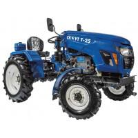В наличии появились Файтер T-15 - самые дешевые ременные мини-тракторы.