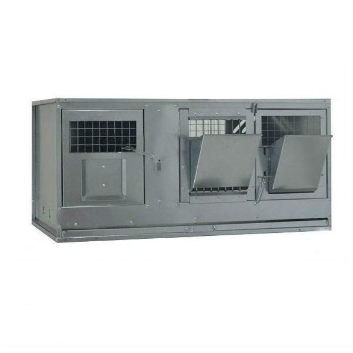 Клетка для кроликов с маточным отделением ПРОФЕССИОНАЛ-95-КМ-1 Стандарт